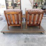 カリモクの椅子